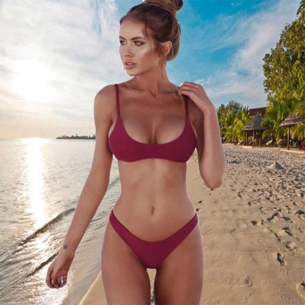 Women's Low-Cut Sexy Swimsuit